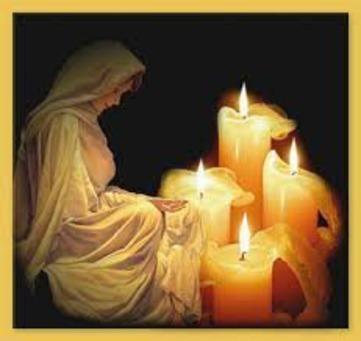 Interpretazione della Fiamma delle Candele candele_maria_80_1.jpeg (Art. corrente, Pag. 1, Foto evidenza)