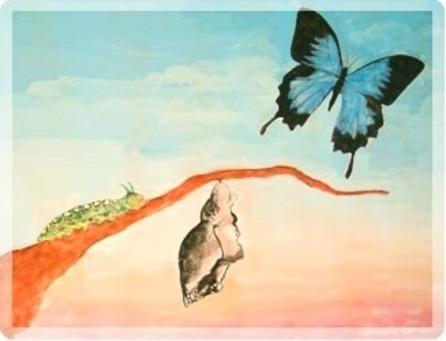 CORSO DI TECNICA METAMORFICA - Da ciò che siamo… a quadro-farfalla_metamorf_318_1.jpg (Art. corrente, Pag. 1, Foto evidenza)