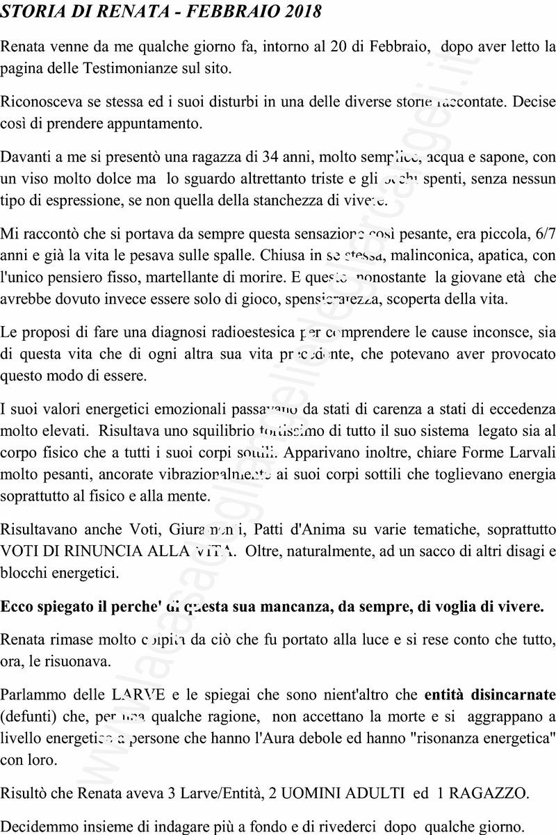 Storia di Renata che aveva voglia di morire RENATA_LOGO_303_1.jpg (Art. corrente, Pag. 1, Foto ingrandimento)