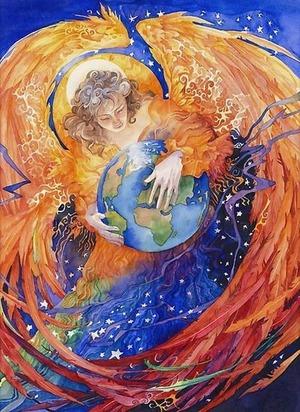 Appello di Madre Terra per tutti i suoi amati figl ANGELO_E_TERRA_203_1.jpg (Art. corrente, Pag. 1, Foto normale)