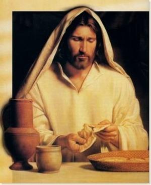 Gli Angeli ci consigliano di Benedire il Cibo che gesu_cibo_151_1.jpg (Art. corrente, Pag. 1, Foto normale)